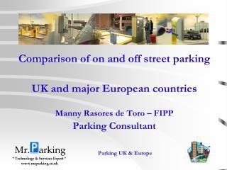 Parking  UK  &  Europe