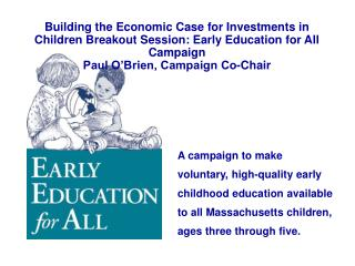 Early Education for All