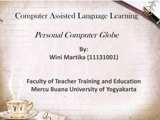 Computer Assisted Language Learning Personal Computer Globe