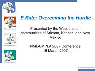 nted by the WebJunction communities of Arizona
