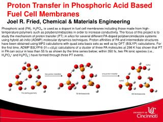 Proton Transfer in Phosphoric Acid Based Fuel Cell Membranes