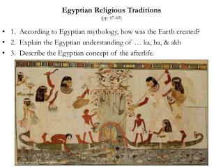 Egyptian Religious Traditions (pp. 67-69)