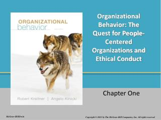 Organizational Behavior: The Quest for People-Centered Organizations and Ethical Conduct