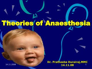 Theories of Anaesthesia