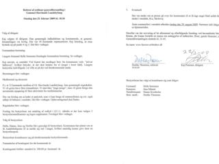 Referat fra generalforsamling i Gl. Skovlunde Landsbylaug Onsdag den 25. februar 2009