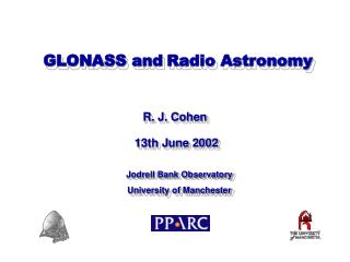 GLONASS and Radio Astronomy