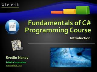 Fundamentals of C Programming Course