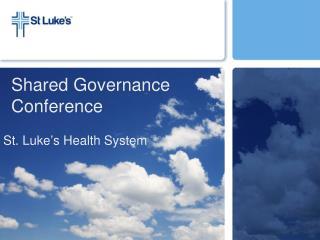 Shared Governance Conference