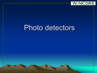 Photo detectors
