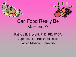 Can Food Really Be Medicine