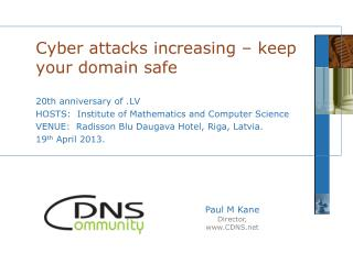 Cyber attacks increasing – keep your domain safe
