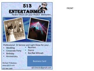 513 ENTERTAINMENT