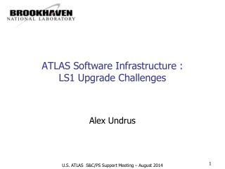 ATLAS Software Infrastructure : LS1 Upgrade Challenges