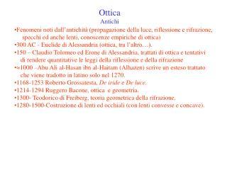 Ottica Antichi