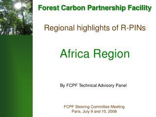 Regional highlights of R-PINs Africa Region