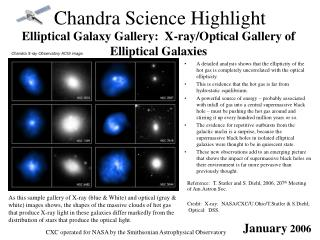 Chandra Science Highlight