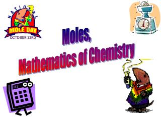 Moles, Mathematics of Chemistry