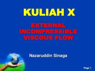 KULIAH X