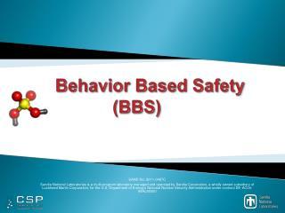 Behavior Based Safety (BBS)