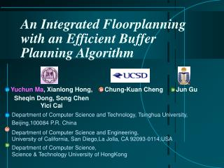 An Integrated Floorplanning with an Efficient Buffer Planning Algorithm