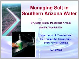 Managing Salt in Southern Arizona Water