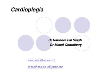 Dr Narinder Pal Singh Dr Minati Choudhary