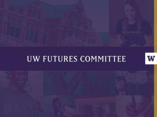 FUTURES COMMITTEE: CHARTER REVIEW