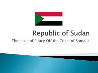 Republic of Sudan