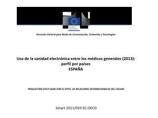 Dirección GeneralparaRedes deComunicación,Contenido yTecnologías