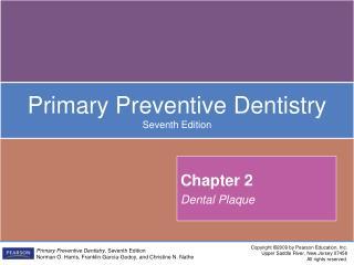 Chapter 2 Dental Plaque