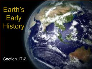 Earth's Early History