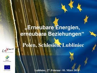 � Erneubare Energien, erneubare Beziehungen �