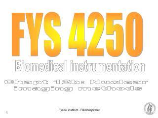 FYS 4250