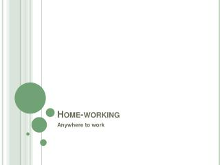 Home-working