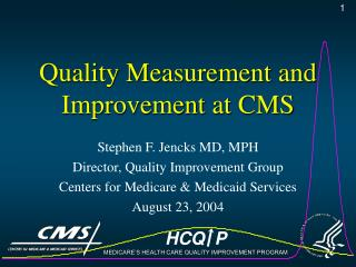 Quality Measurement and Improvement at CMS