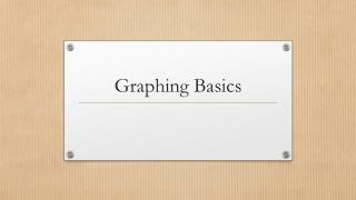 Graphing Basics