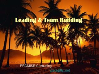 Leading & Team Building
