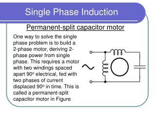Single Phase Induction