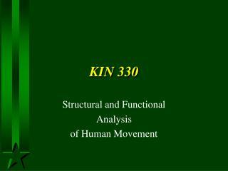 KIN 330