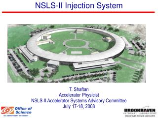 NSLS-II Injection System