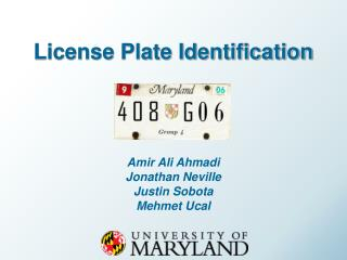 License Plate Identification