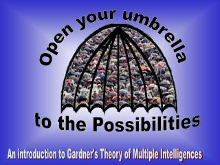 Open your umbrella