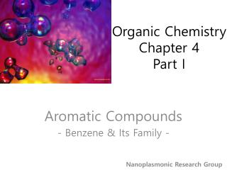 Organic Chemistry Chapter 4 Part I