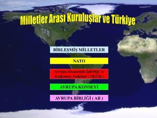Milletler Arası Kuruluşlar ve Türkiye