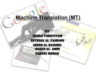 Machine Translation (MT)