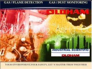 GAS / FLAME DETECTION        GAS / DUST MONITORING