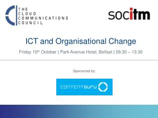 ICT and Organisational Change