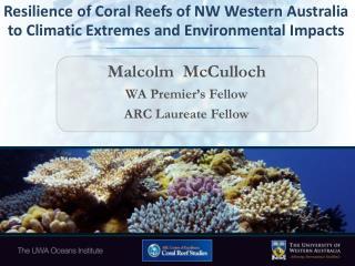 Malcolm  McCulloch WA Premier's Fellow ARC Laureate Fellow