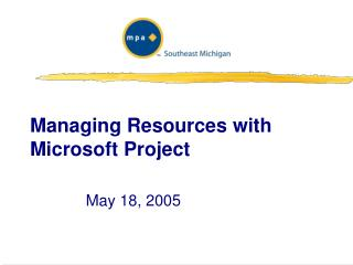 Managing Resources with Microsoft Project