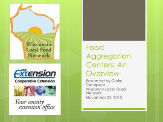 Food Aggregation Centers: An Overview